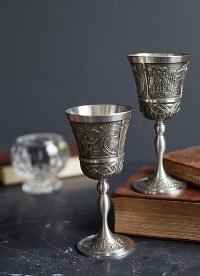 Celtic & Kells Goblet Set Of 2