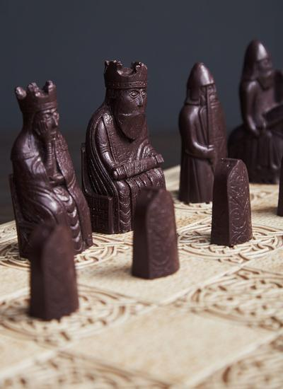 Large Isle of Lewis Chess Set