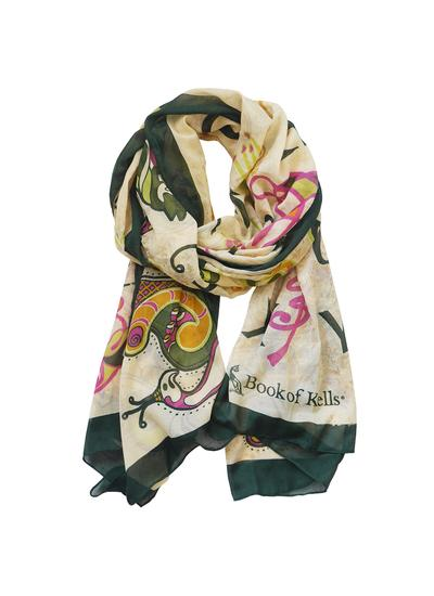 Book of Kells Alphabet Scarf