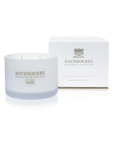 Dublin Tea Rose, Oud & Patchouli Classic Candle