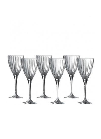 Royal Doulton Linear Wine Glasses Set of 6