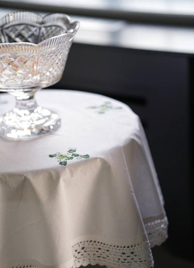 Shamrock Round Tablecloth