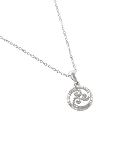 Sterling Silver Celtic Scroll Pendant