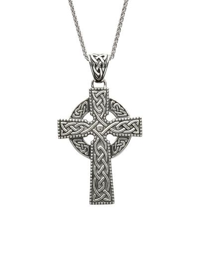 Sterling Silver Large Celtic Cross