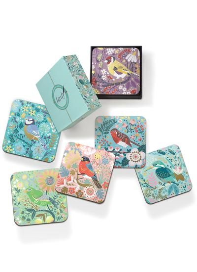 Birdy Coasters Set of 6