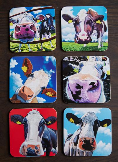 Eoin O'Connor Coasters Set of 6