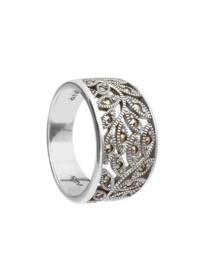 Tree Of Life Marcasite Ring