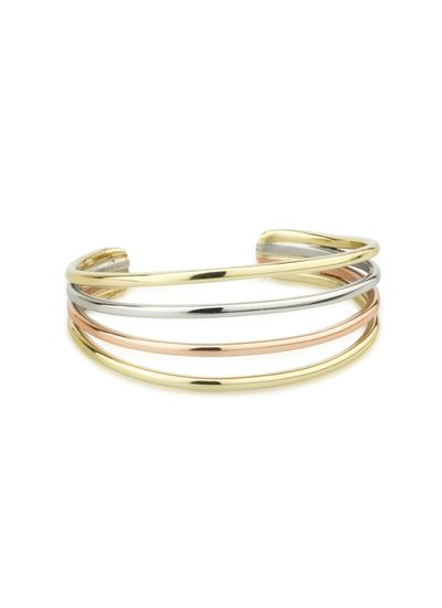 Tri Color Four Strand Bangle