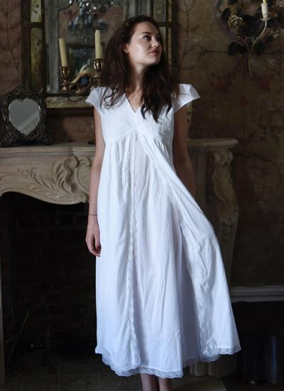 Valerie Cotton Nightgown