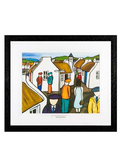 The Weekending Framed Print
