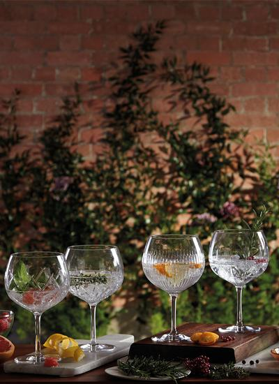Waterford Crystal Gin Journey Glasses Set of 4