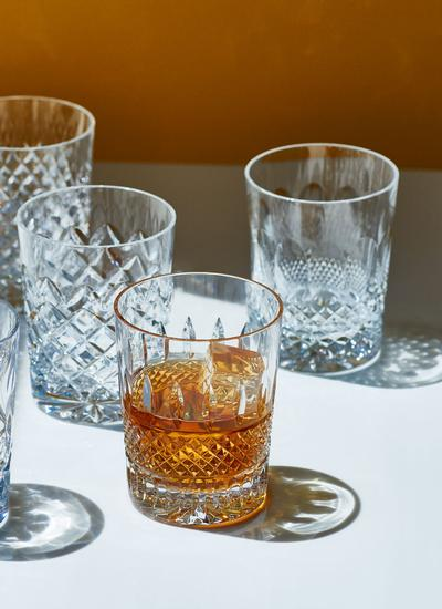 Waterford Crystal Heritage Lismore Connoisseur DOF Tumblers Set of 6