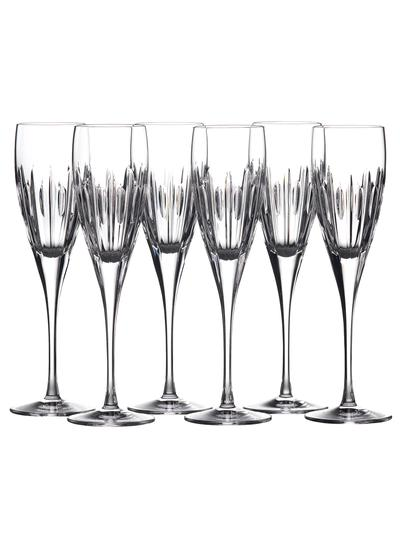 Waterford Crystal Ardan Mara Flute Set of 6