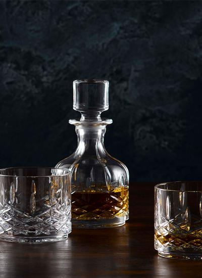 Marquis Markham Stacking Decanter & Tumbler Set