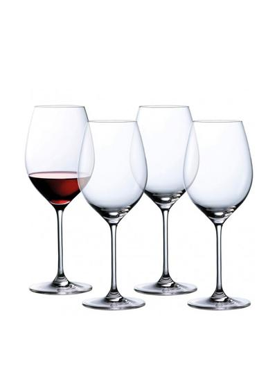 Waterford Crystal Marquis Moments Red Wine Glass Set of 4
