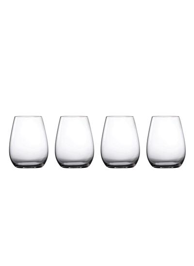 Waterford Crystal Marquis Moments Stemless Wine Set of 4