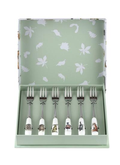 Wrendale Designs Pastry Forks Set of 6