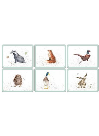 Wrendale Designs Mixed Placemats Set of 6