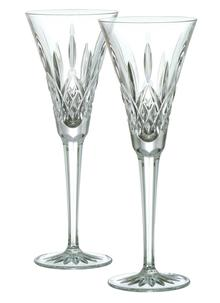 Waterford Crystal Classic Lismore Toasting Flutes Pair