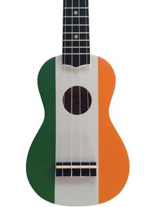 McBrides Irish Flag Ukulele
