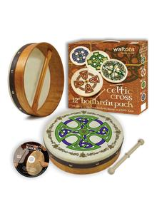 Brosna Cross 12'' Bodhran Set
