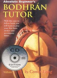 Absolute Beginners Bodhran Tutor & CD book