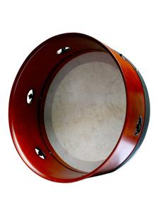 Hand Tuneable Bodhran Deep Pro Frame in Mahogany