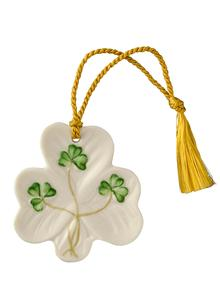 Shamrock Shaped Ornament