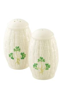 Shamrock Salt & Pepper Set