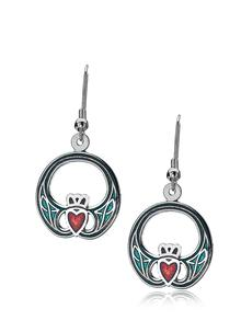 Claddagh Drop Earrings