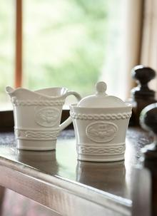 Claddagh Sugar Bowl & Cream Jug