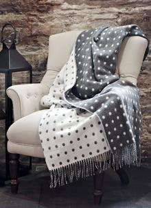 Lambswool Spot Throw