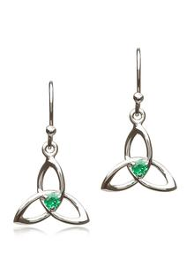 Sterling Silver Trinity Earrings