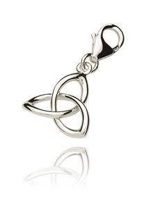 Sterling Silver Trinity Knot Charm