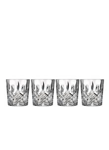 Marquis by Waterford Crystal Markham Double Old Fashioned Set Of 4