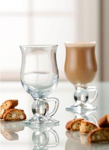 Galway Crystal Irish Coffee Glasses Plain (Pair)