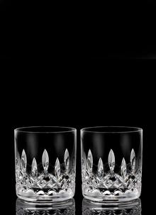 Waterford Crystal Lismore Connoisseur Straight 7oz Tumbler Pair