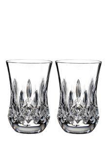 Waterford Crystal Lismore Connoisseur Flared Sipping 7oz Tumbler Pair