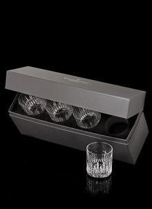 Waterford Crystal Lismore Connoisseur Diamond Straight Tumbler Set Of 4
