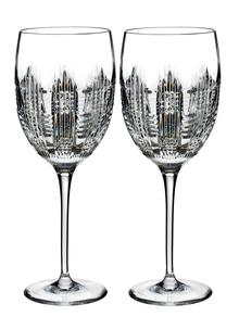 waterford crystal dungarvan goblet pair - Waterford Crystal Wine Glasses