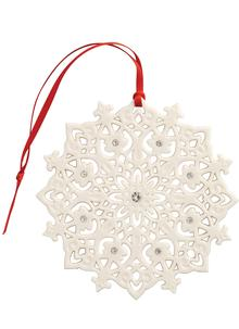 Lace Snowflake Hanging Decoration