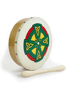 Celtic Cross 8'' Bodhran