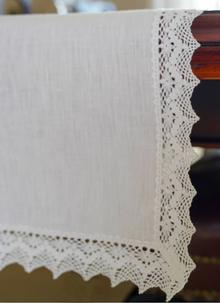Abbey Linen Table Runner