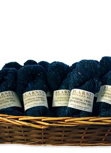 Aran Handknitting Wool Tweed Denim Pack Of 12