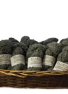 Aran Handknitting Wool Tweed Gray Pack Of 12