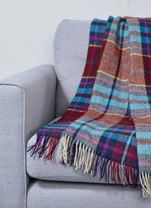 Donegal Bordeaux Throw