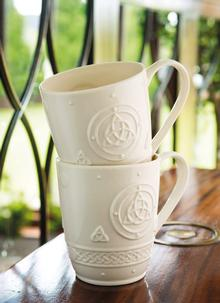 Celtic Mugs Set Of 2