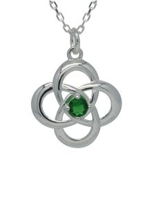 Sterling Silver Celtic Love Knot Pendant