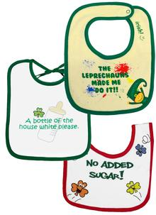 Baby Bib Set Of Three