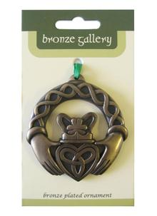 Claddagh Bronze Ornament